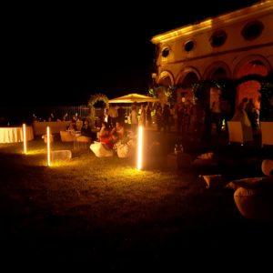 Luminarie esterne Wedding
